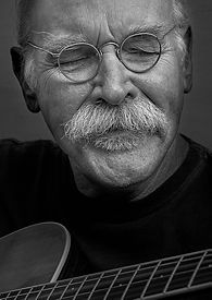 Portrait of musician, painter, composer, storyteller Tom Pirozzoli by Ken Schuster.