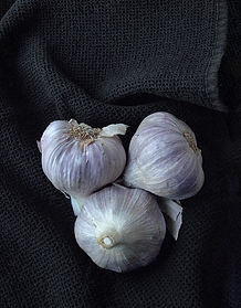 Garlic Trio - Photography by Ken Schuster.