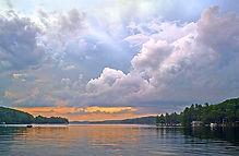 Sunapee Sky - Photograph by Ken Schuster.