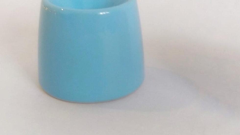 Чернильница непроливайка голубая