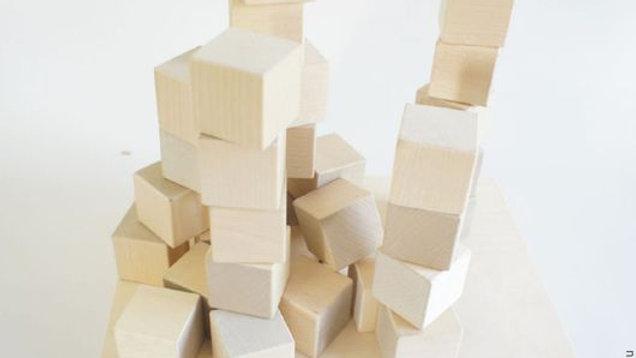 Набор кубиков 24 шт без покраски