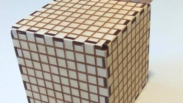Кубический дециметр для изучения объёма полый