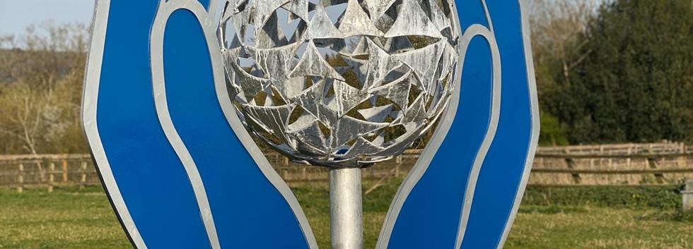 In Safe Hands - Our NHS Sculpture