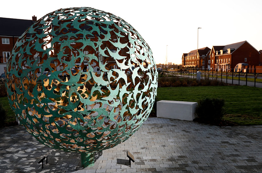 Swift Sphere Sculpture