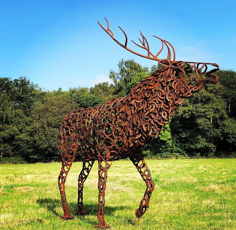 Big Bellowing Stag