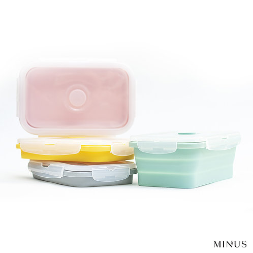 Collapsible Silicone Food Container (850ml)