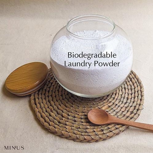Biodegradable Laundry Powder