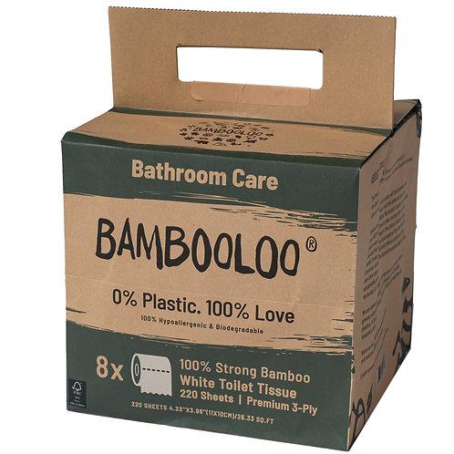 BAMBOOLOO Bamboo Toilet Rolls