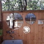 Salle d'eau Tente La bedulla