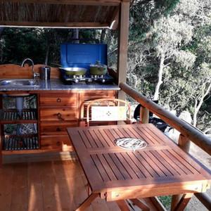 private tent terrace