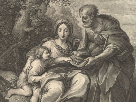 Pause & Ponder the Holy Family
