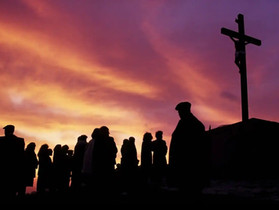 Accompanying Jesus To Death