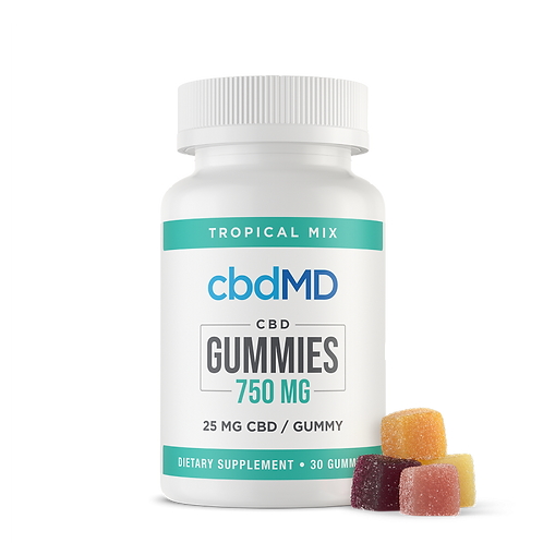 CBD Gummies 750mg (Tropical Mix - 30)
