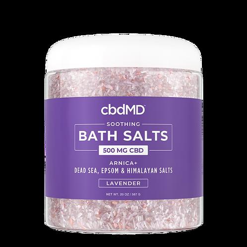 CBD Bath Salts 100mg (20oz)
