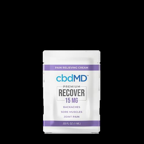 CBD Recover Lotion 15mg Sample Packs (7)