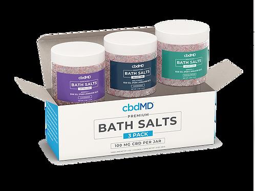 CBD Bath Salts 100mg (3 pack)