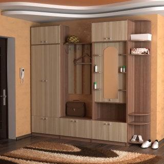 Набор корпусной мебели для прихожей ЛДСП