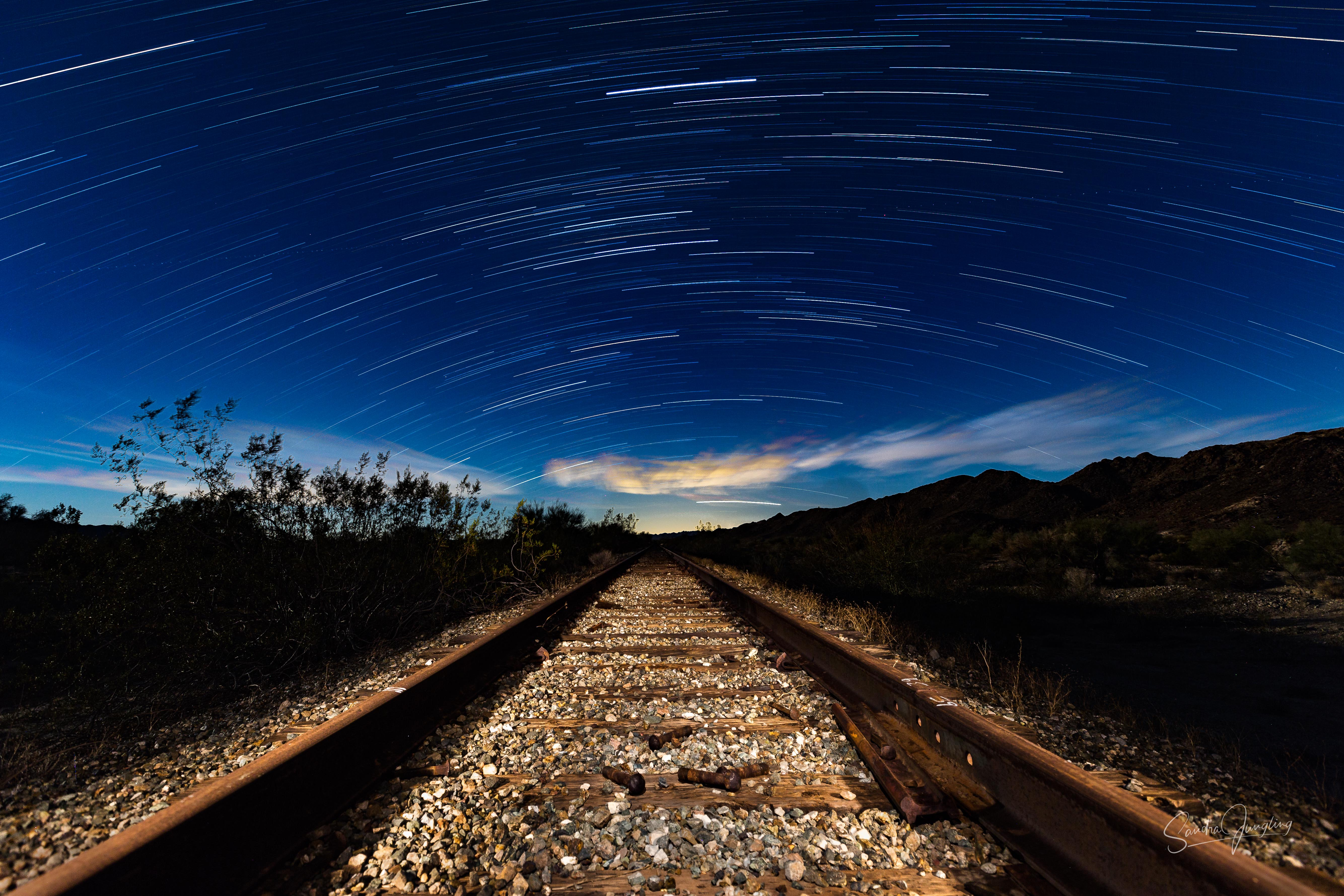 South bound Eagle Mine rail road