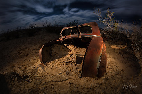 Buried in the Desert #1