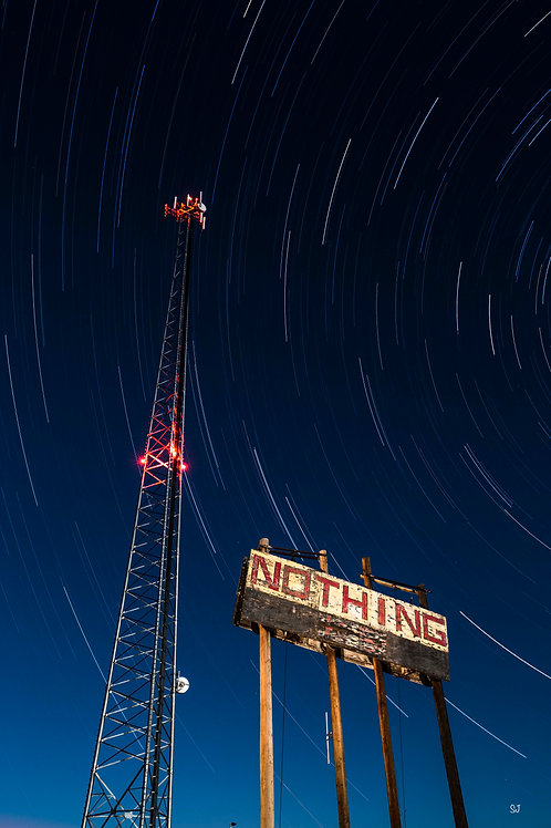 Nothing but a cell phone tower