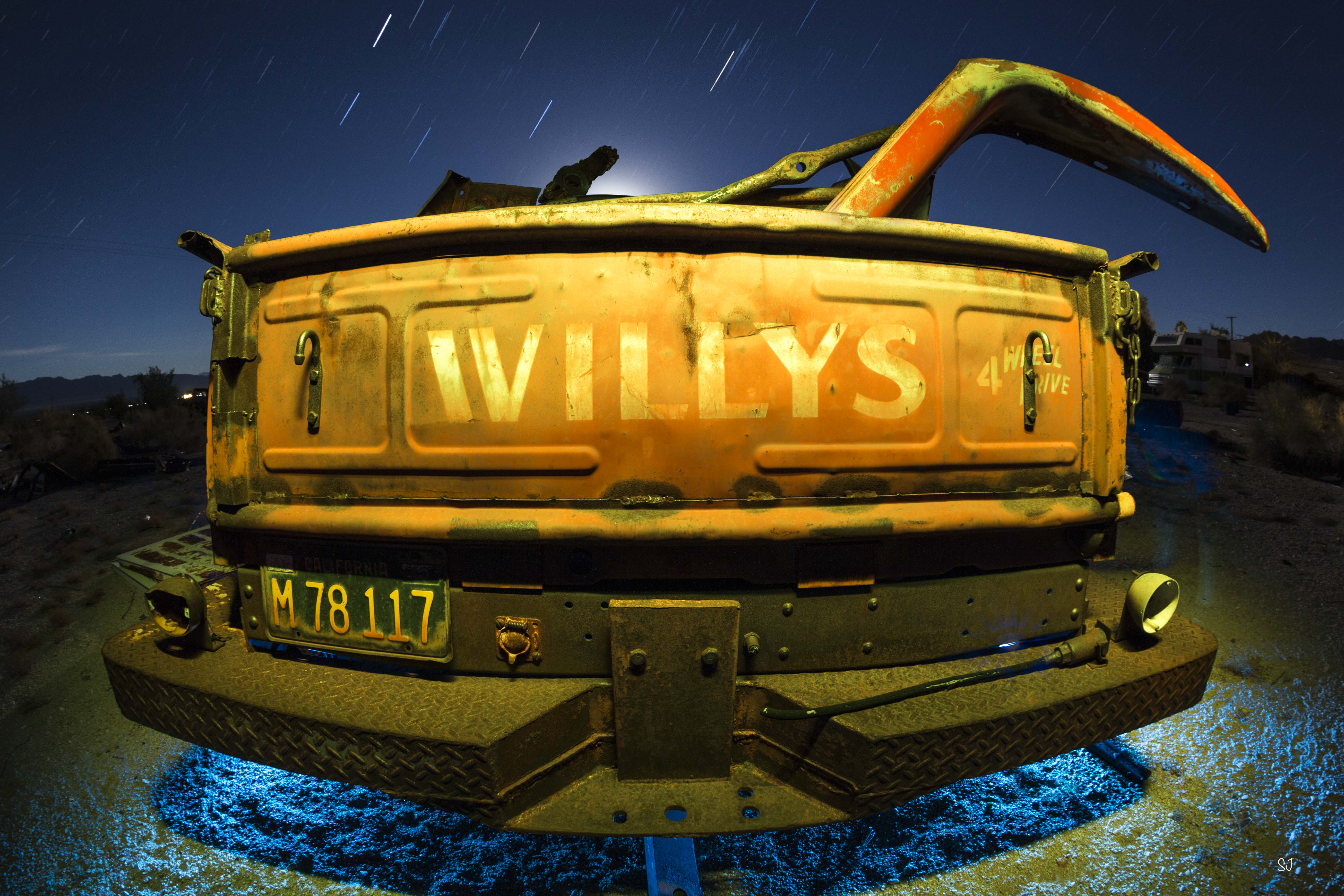 Willy's 4 Wheel Drive.