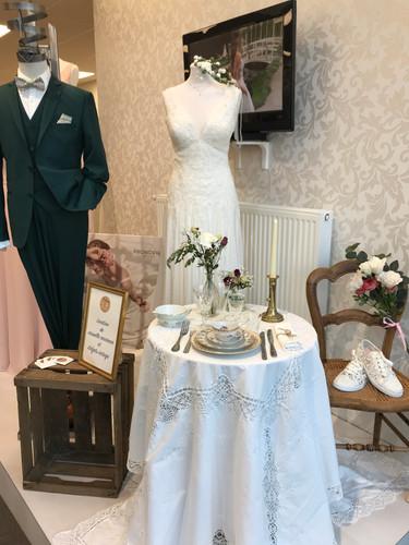 mise en scène salon mariage