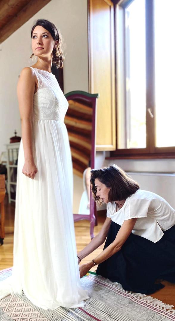 Prova abito da sposa Margherita