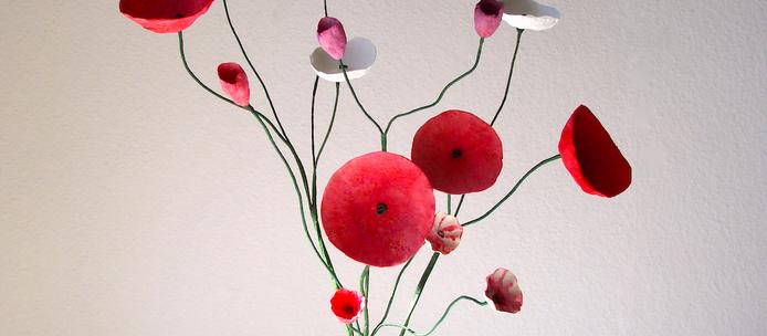 L'arte dei fiori di cartapesta di Alessandra Fabre Repetto