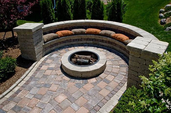 Orchard Park Patios, Hardscaping