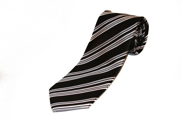 Black Silver Candy Cane