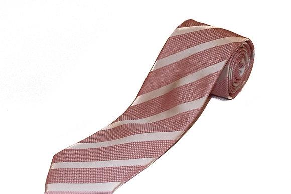 Subtle Pink Candy Stripe