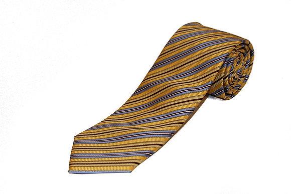 Classy Yellow Blue Stripe