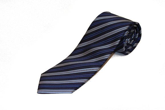 Classy Darker Blue Stripe