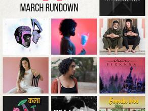 March Rundown
