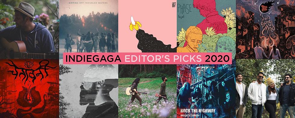 Indiegaga Editor's Picks 2020_Cover Pic.