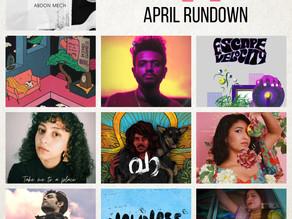 April Rundown