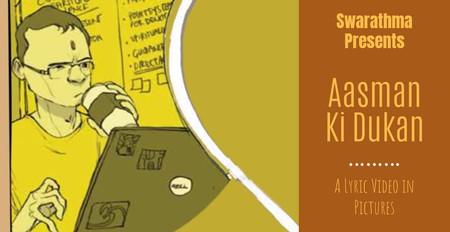 Aasman Ki Dukan - Lyric Video | Swarathma | Raah-E-Fakira | Indie Folk Rock