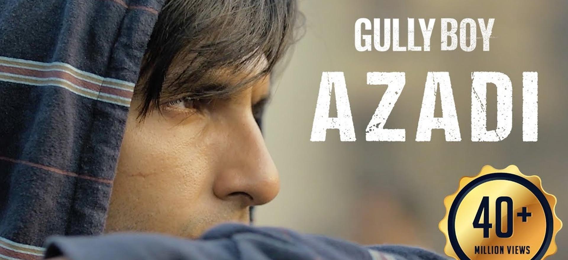 Azadi - Gully Boy| Ranveer Singh & Alia Bhatt | DIVINE