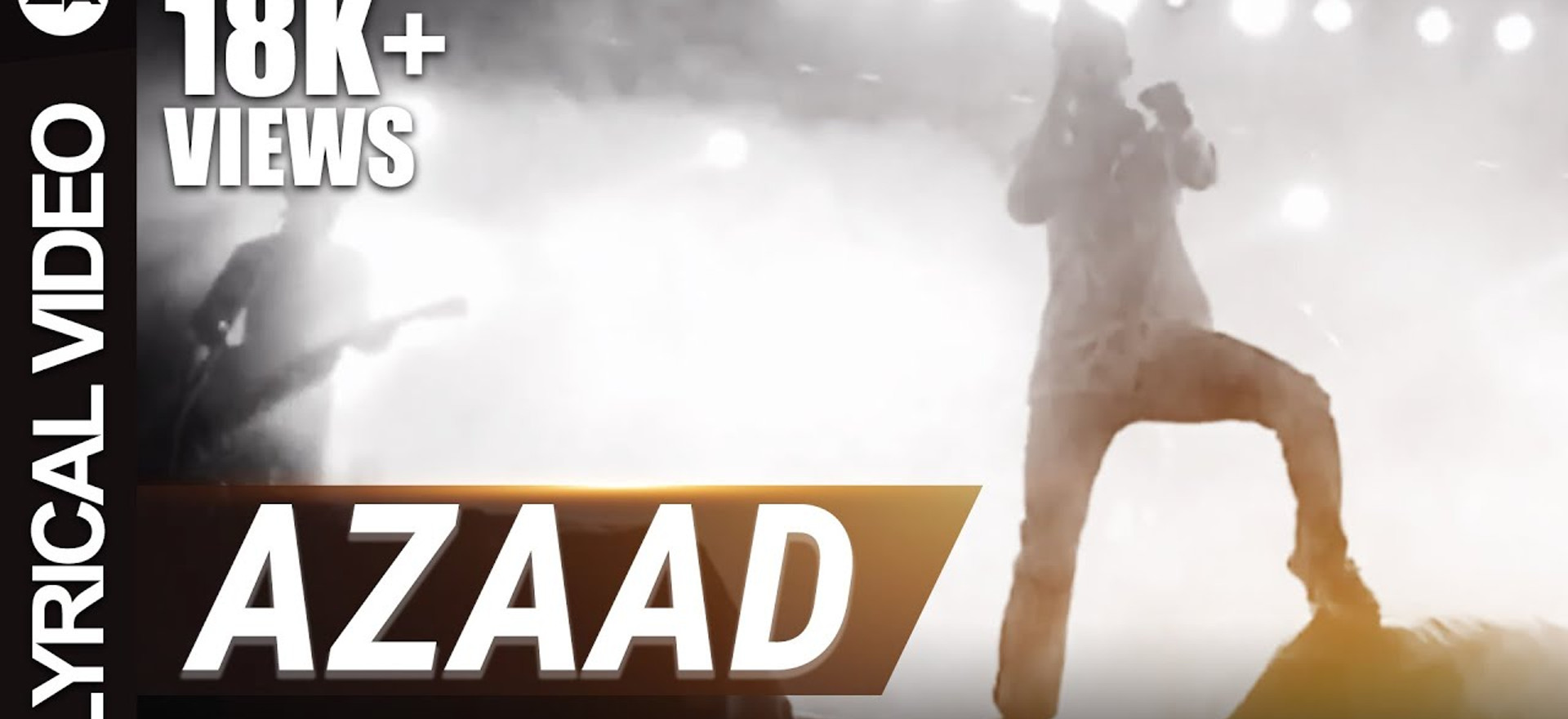 Azaad | Official Lyrics Video | Indian Rap Rock | Underground Authority