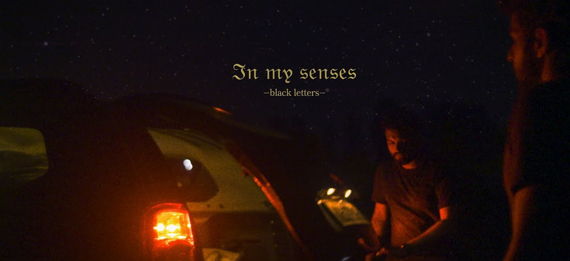 Black Letters - 'In My Senses' (Official Music Video)