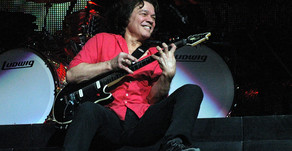 Guitar God, Eddie Van Halen, bids  adieu