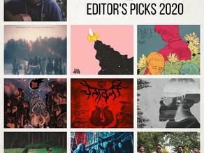 Indiegaga Editor's Picks 2020