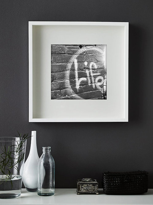 12x12 B&W Unframed Reproductions