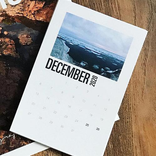 2021 Northern Reflections Desktop Calendar Insert