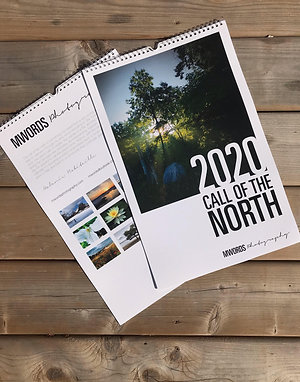 Call of the North 13-Month 2020 Wall Calendar