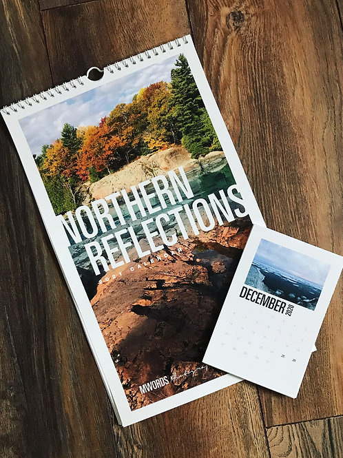 2021 Northern Reflections Wall Calendar