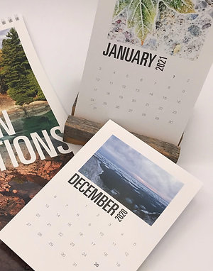 2021 Northern Reflections Desktop Calendar