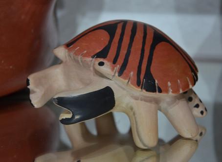Cerâmica zoomorfa (Wauja)