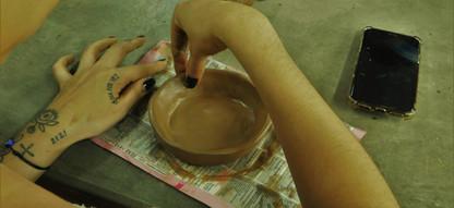 1ª Oficina de cerâmica Wauja