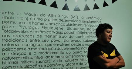 Tukupé Wauja em visita de alunos da pós-graduação em Direito (30/09/19)